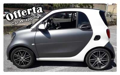 Offerta Carwrapping per Smart