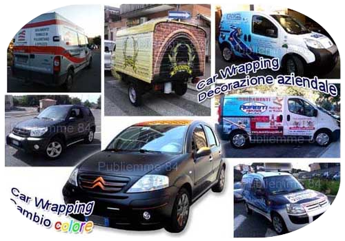 Car wrapping, cambio colore dell'automobile