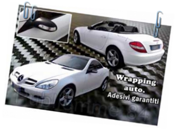 Carwrapping su mercedes